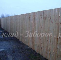 Забор из дерева-2