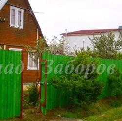 Забор из дерева-5