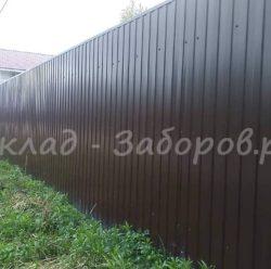Забор из профлиста-7