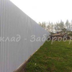 Забор из профлиста-14