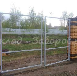 Ворота из профлиста-4