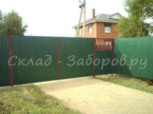 Ворота и калитка из профлиста-11