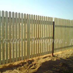 Забор из дерева-3