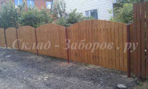 Деревянный забор-2