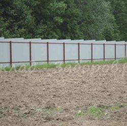 Забор из профлиста-13