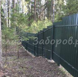 Забор из профлиста-18