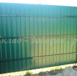 Забор из профлиста-4