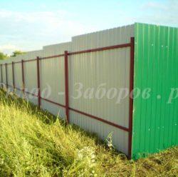 Забор из профлиста-6