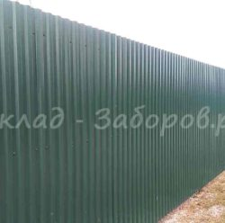 Забор из профлиста-10