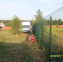 Забор из 3D-сетки-4