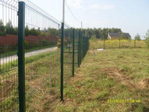 Забор из 3D-сетки-5