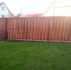 Забор из дерева-7
