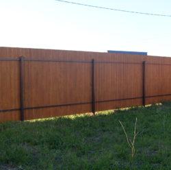 Забор из дерева-10
