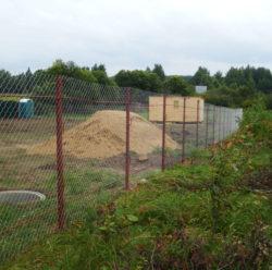 Забор из сетки-рабица-6